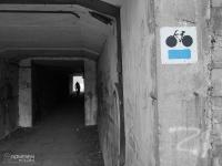 Przejazd tunelem pod torami