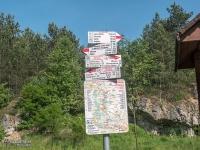Oznakowanie szlaku w małopolskim