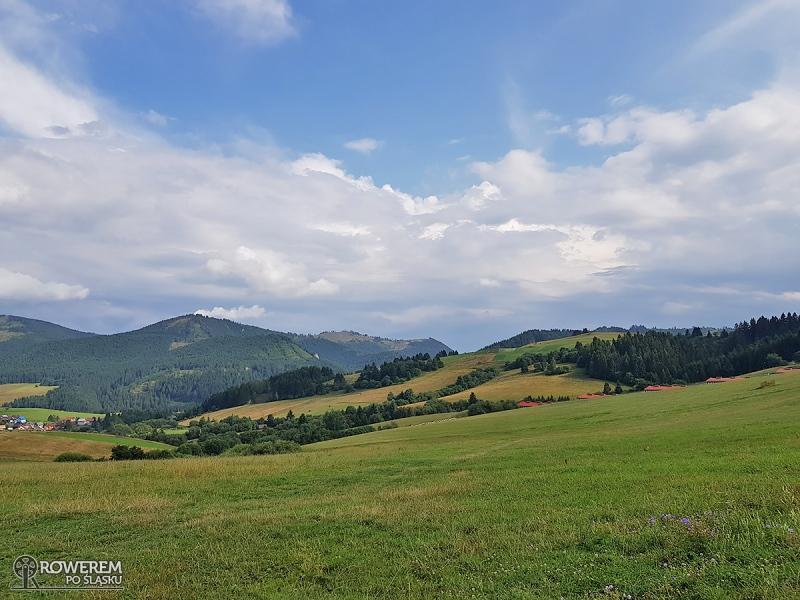 Widok na Malatine i Góry Choczańskie