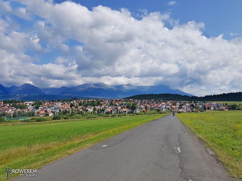 Zjazd do Szczyrby (Strba) - niesamowita panorama