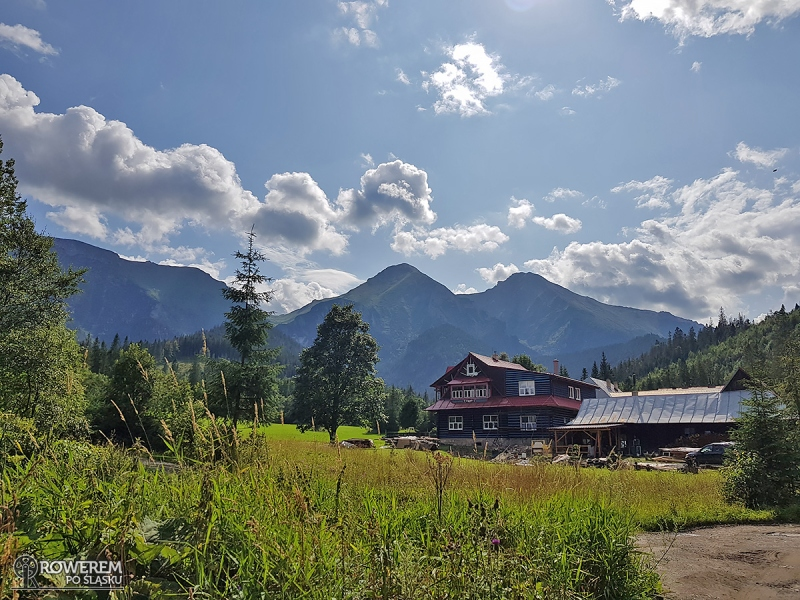 Z widokiem na słowackie szczyty