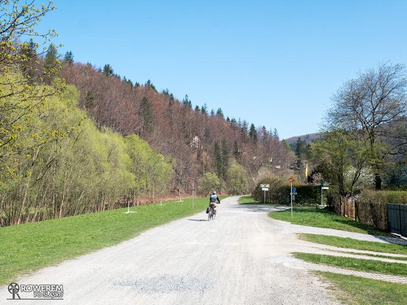 Początkowe kilometry w Wiśle