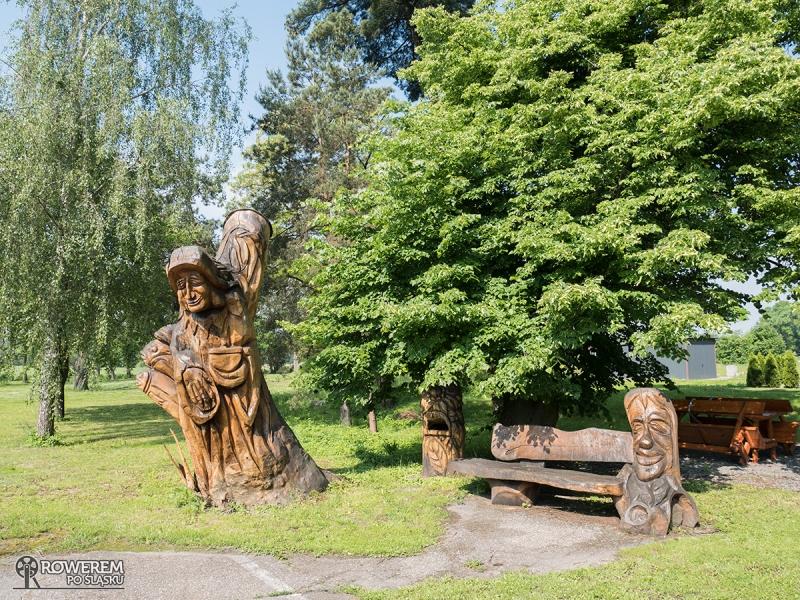 Rzeźba Utopca w Godowie