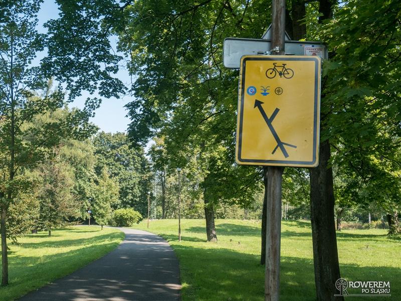 Żelazny Szlak Rowerowy - Park Zdrojowy w Karwinie