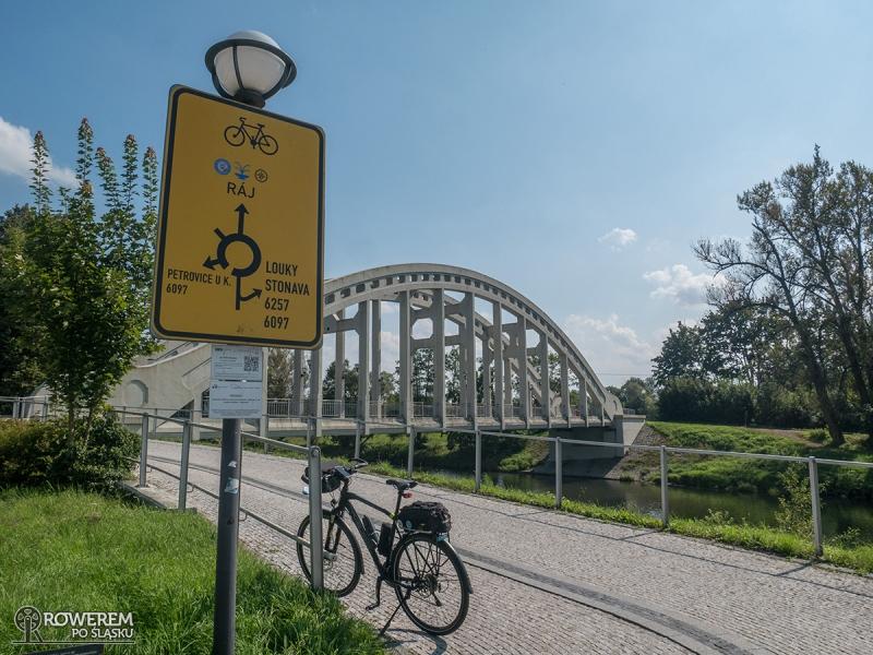 Żelazny Szlak Rowerowy - Most Bohaterów Sokołowa