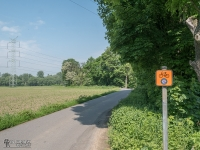 Żelazny Szlak Rowerowy - początek szlaku w Godowie