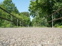Nawierzchnia drogi rowerowej Żelaznego Szlaku Rowerowego