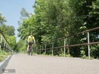 Jedna z najlepszych dróg rowerowych w śląskim
