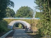 Żelazny Szlak Rowerowy - odcinek w Jastrzębiu-Zdroju