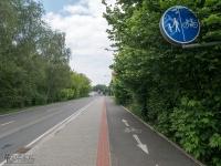 Żelazny Szlak Rowerowy - droga rowerowa w Karwinie