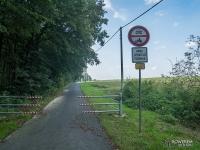 Żelazny Szlak Rowerowy - odcinek w Piotrowicach