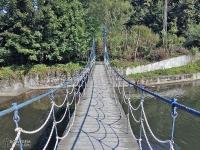 Mostek nad Wisłą w Wiśle