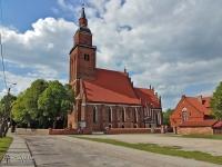 Green Velo - Kościół w Sępopolu