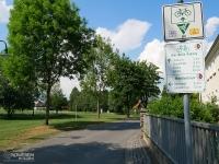 Oznakowanie szlaku Odra Nysa w Niemczech
