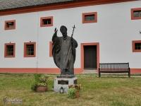 Pomnik Jana Pawła II w Marienthal
