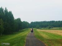 Rowerzyści na szlaku