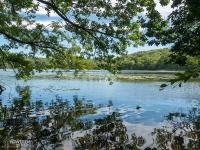 Malownicze jezioro w Wolińsku Parku Narodowym