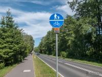 Droga rowerowa do Dzwinowa