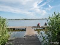 Molo na jeziorze Liwia Łuża