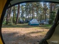 Pole namiotowe w Łebie