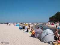 Ujście Piaśnicy do Bałtyku