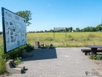 Stacja Radoszewo - miejsce odpoczynkowe na szlaku