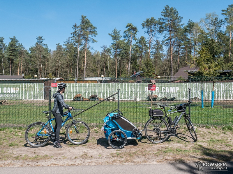 Deer Camp - zagroda dla zwierząt nad jeziorem Chechło-Nakło