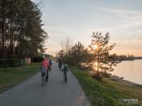 Miejsce popularne także na rodzinne wycieczki rowerowe
