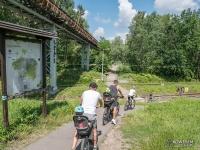 Przejazd kolejowy - Dolina Trzech Stawów