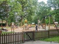 Plac zabaw w parku Giszowiec