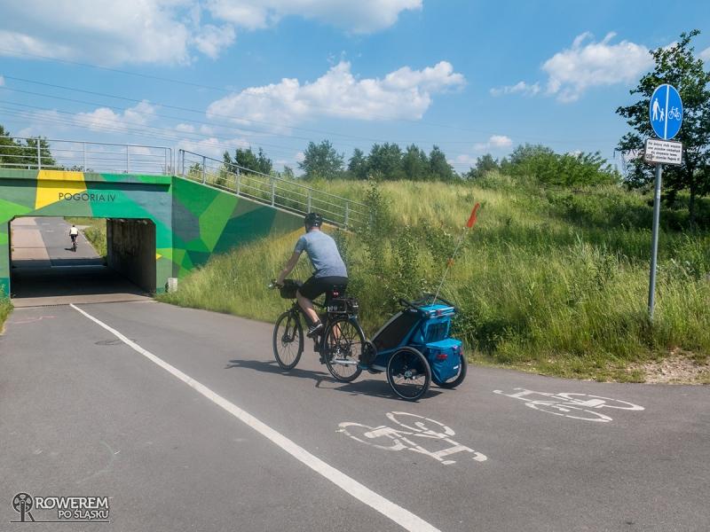 Tunel pomiędzy Pogorią III a Pogorią IV
