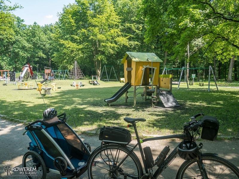Park Zielona - plac zabaw
