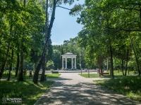 Krąg taneczny w parku Zielona
