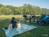Piknik nad Wisłą w Ustroniu