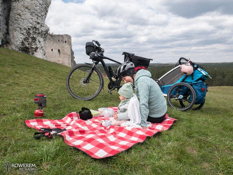 Piknik przy zamku w Mirowie