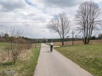 Świetna droga rowerowa z Żarek do Mirowa