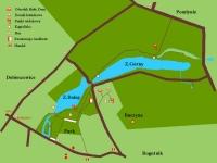 Zalew Rogoźnik - Mapa