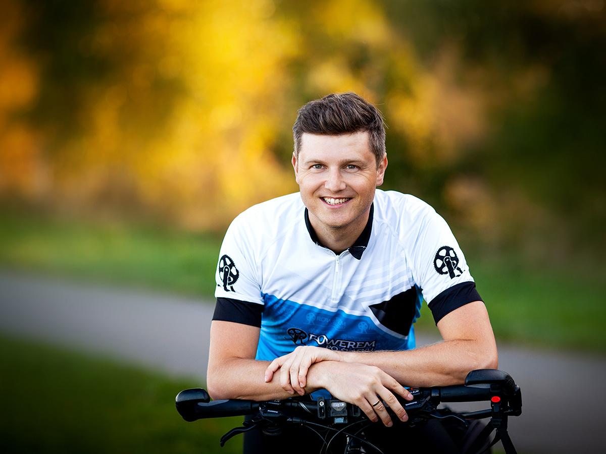 Damian Berłowski - twórca bloga Rowerem Po Śląsku