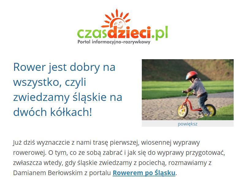 Wywiad Rowerem Po Śląsku - Czas Dzieci