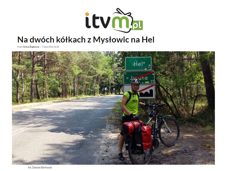 Wywiad Rowerem Po Śląsku - itvm