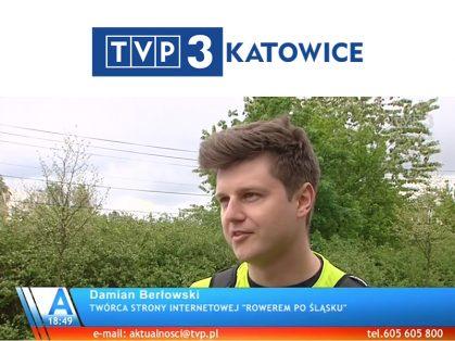 Wywiad Rowerem Po Śląsku - TVP3 Katowice