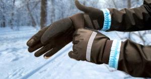 Jazda na rowerze zima - chroń dłonie i stopy