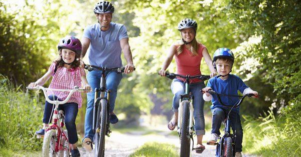 Rowerem z dzieckiem