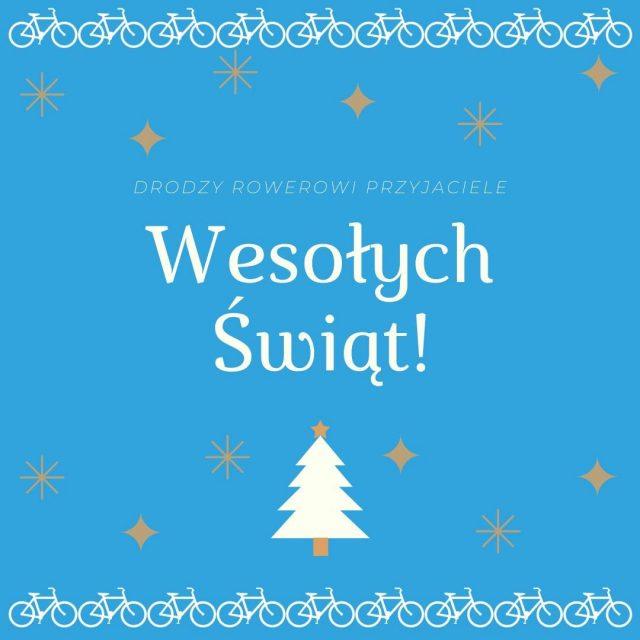 🎄🎄🎄🎄🎄🎄🎄🎄🎄🎄 Spokojnych świąt Bożego Narodzenia spędzonych z bliskimi w ciepłej, rodzinnej atmosferze oraz spełnienia rowerowych celów w nadchodzącym Nowym Roku!
