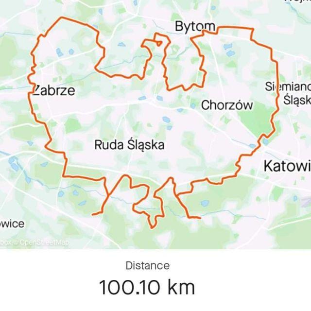 Dziś miałem przyjemność narysować na mapie takiego orzełka!  A to wszystko dzięki ekipie Obszar Warowny Śląsk na rowerze, która zorganizowała wspólny przejazd z okazji 100. rocznicy wybuchu III Powstania Śląskiego. Setna rocznica, więc 100km musi być ;) Autorem tej spektakularnej trasy jest Jan Rother 💪 #roweremposlasku #rowerempośląsku #silesiatravel #rower #bike #cycling #weekend #travel #travelgram #biketrip #bikelife #lovesilesia #slask #silesia #trip #rowerowo #travelbike #blogpodrozniczy #wpodróży #orzeł #eagle #naszapolska #wycieczka #trasa #trasarowerowa #powstanie #powstanieśląskie
