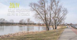 Żółty szlak rowerowy nr 141 w Tychach