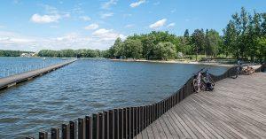 trasy rowerowe Dąbrowa Górnicza - Jezioro Paprocany