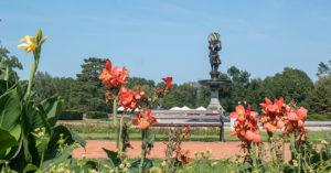 trasy rowerowe Dąbrowa Górnicza - Park Świerklaniec
