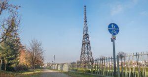 trasy rowerowe Sosnowiec - Radiostacja Gliwice
