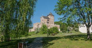 trasy rowerowe Dąbrowa Górnicza - Zamek w Będzinie